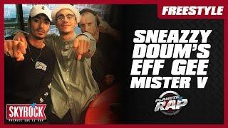 Freestyle de Sneazzy, Mister V,  Doum