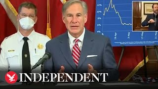 Coronavirus spreading at 'unacceptable' rate, says Texas governor