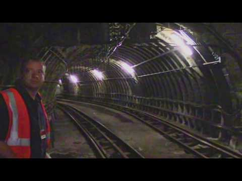 Hidden London: Abandoned Mail Rail London