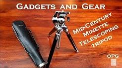 Mid-Century Minette Telescoping Tripod