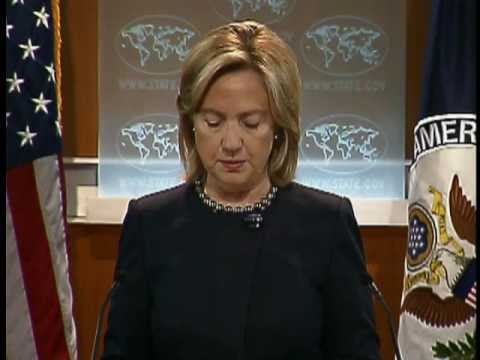 Secretary Clinton Announces Transfer of Funds to Palestinian Authority