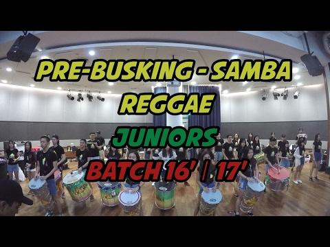 SAMBA REGGAE - PRE-BUSKING 2016