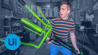 Building a DIY NET GUN to Catch Aliens in Area 51