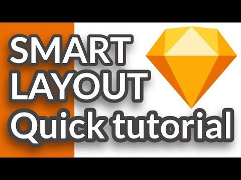 Quick Tutorial - Smart Layout -  Sketch v.58 thumbnail