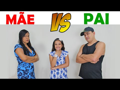 MÃE VS PAI - JULIANA BALTAR