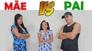 MÃE VS PAI - JULIANA BALTAR