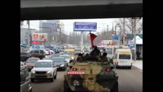 """Ветераны афганской войны проехали колонной от """"Черного тюльпана"""" до 3-й Дачной"""