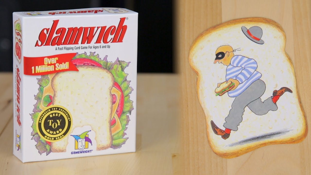 Slamwich Card Game | What!? What?