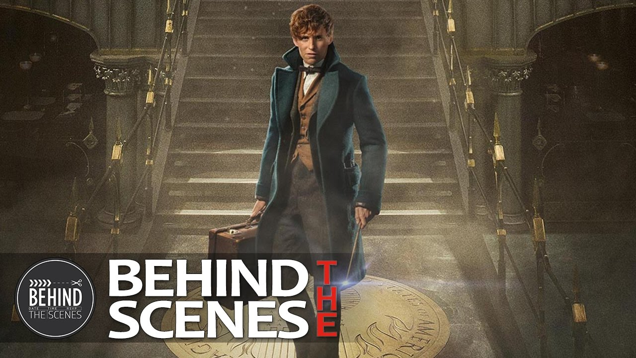 fantastic beasts and where to find them behind the scenes youtube
