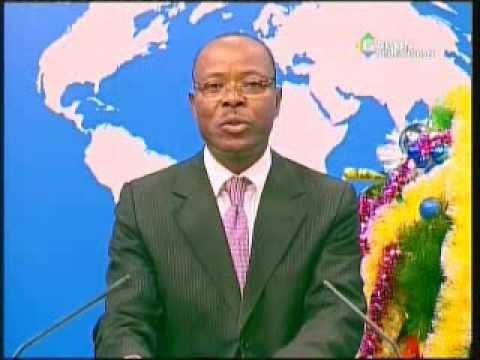 GABON TV : JT 20H DU LUNDI 6 JANV.2014