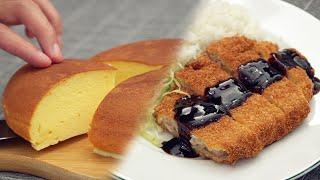 とんかつ とチーズケーキ|Nino's Homeさんのレシピ書き起こし