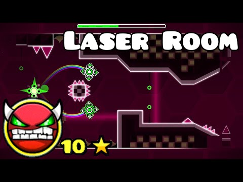 Geometry Dash Demon: Laser Room - by Nature