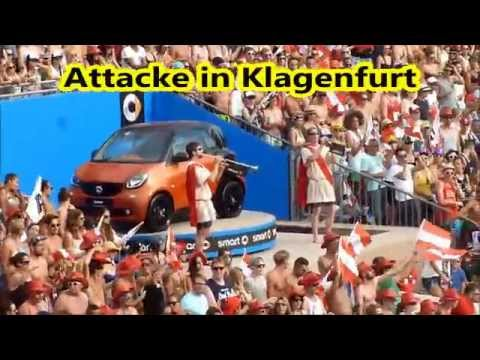 Attacke In Klagenfurt - Fanfaren