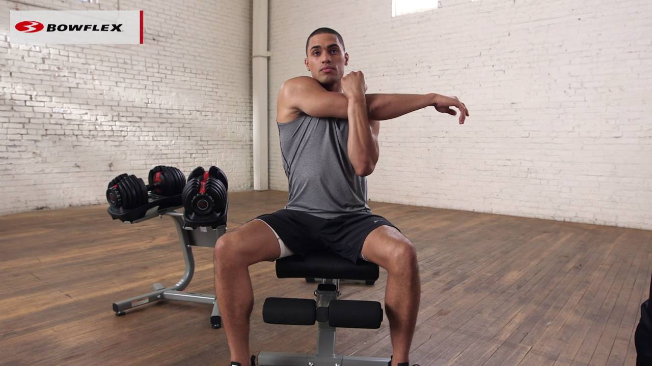 Upper Body Stretches Warm Up For An Upper Body Workout Youtube