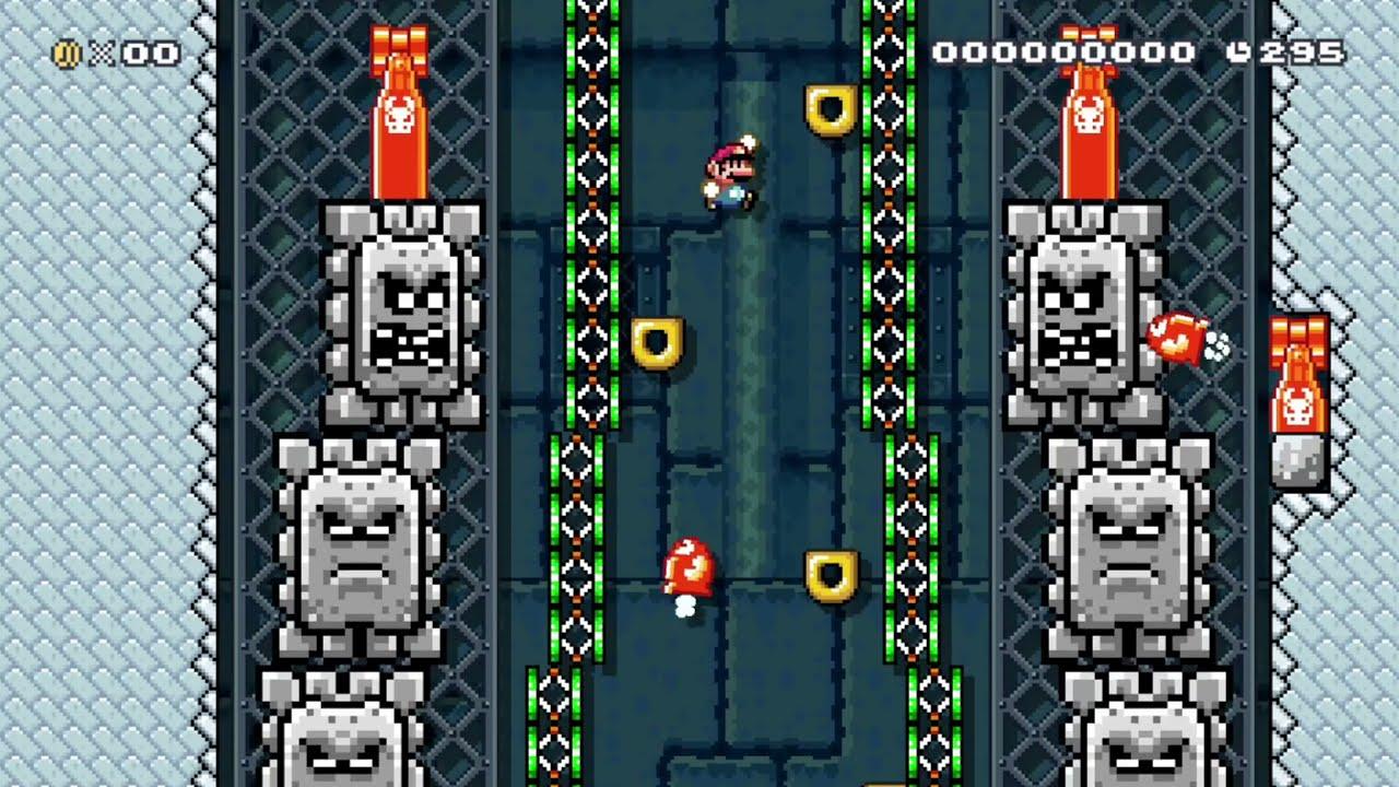 マリオメーカー2   Aggressive Elevator