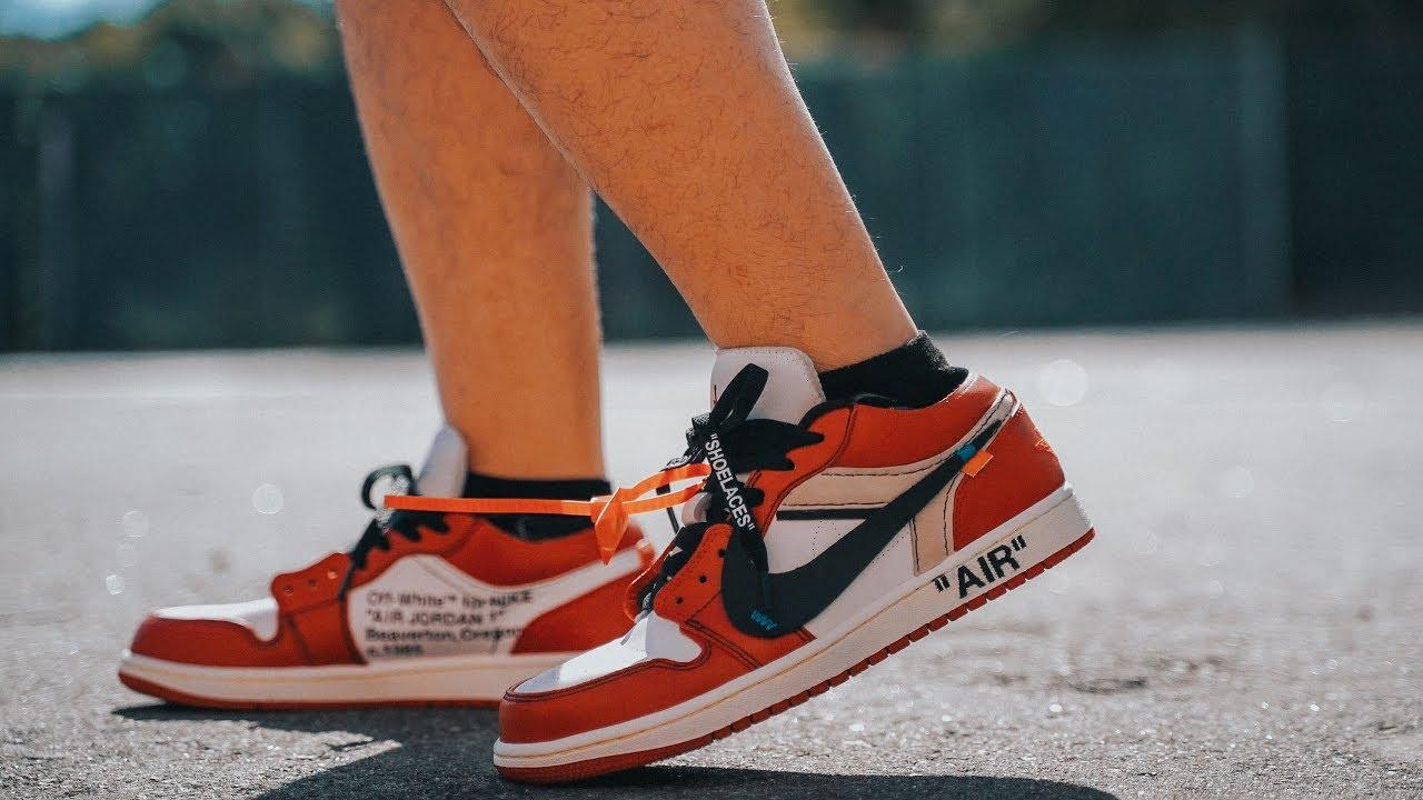 Sản phẩm giày nike air jordan 1 cổ thấp và alexander mcqueen sneaker