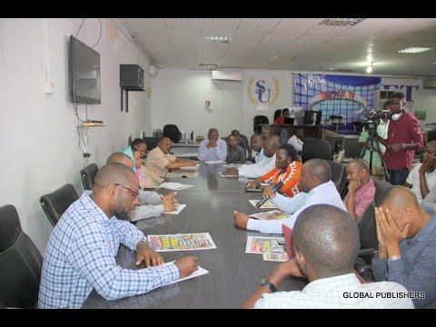 Wahariri na Waandishi Global Publishers Waijadili Vita Dhidi ya Viroba