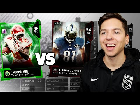 FASTEST PLAYERS  vs HIGHEST OVERALL PLAYERS!  Madden 19 Draft Challenge