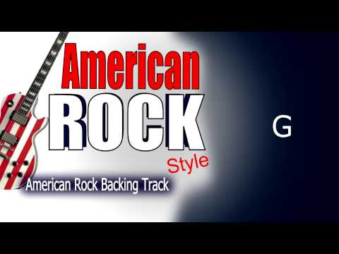American Rock Guitar Backing Track 103 Bpm Highest Quality