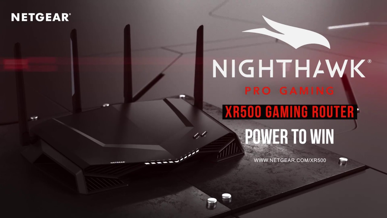 Netgear Nighthawk Pro Gaming XR500 AC2600 Dual Band WiFi Router with Geo  Filter