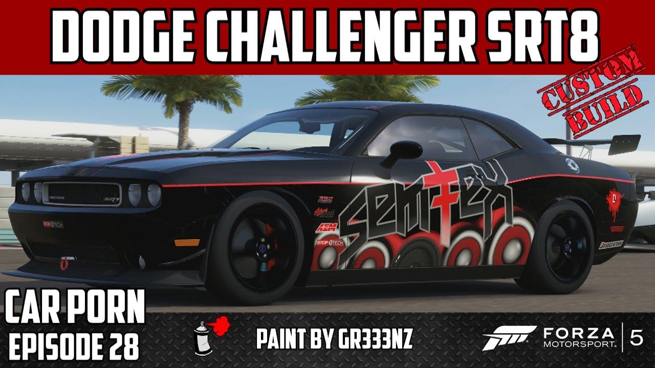 Forza 5 custom dodge challenger srt8 car porn episode 28