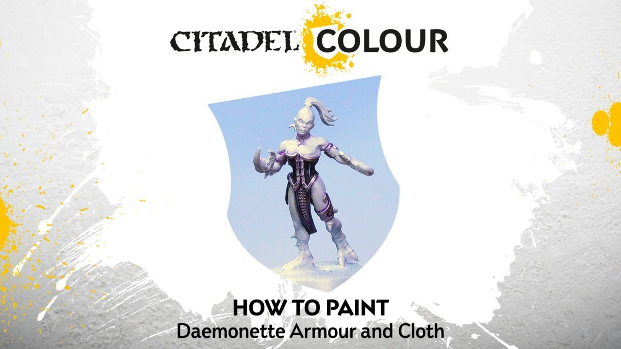 How to Paint: Daemonette Armour and Cloth