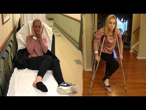 she-broke-her-foot!