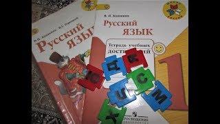Русский язык - обзор учебника за 1 класс Школа России