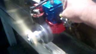 WEED EATER 24CC R/C GAS ENGINE CONVERSION BY DR TUNE!