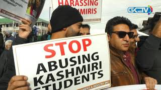 Traders down shutters in Lal Chowk to protest attacks on Kashmiris