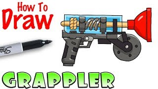 How to Draw the Grappler | Fortnite