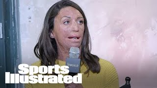How Turia Pitt Overcame Brush Fire Burns To Become Ironman Finisher | SI NOW | Sports Illustrated