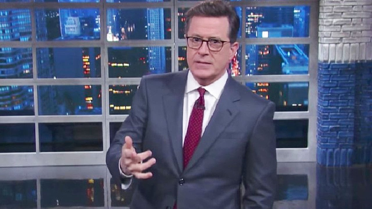 Stephen Colbert not sorry for comments that sparked #FireColbert: 'Life is short'