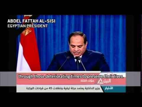 Egyptian strikes on ISIS targets in Libya Egyptian state TV Egyptian Army, Social media, Reuters