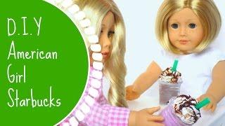 D.i.y American Girl Doll Starbucks!