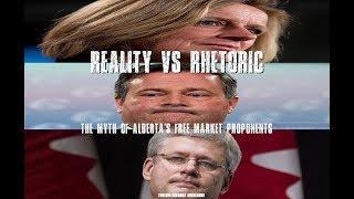 Reality vs Rhetoric - The Myth of Alberta's Free Market proponents