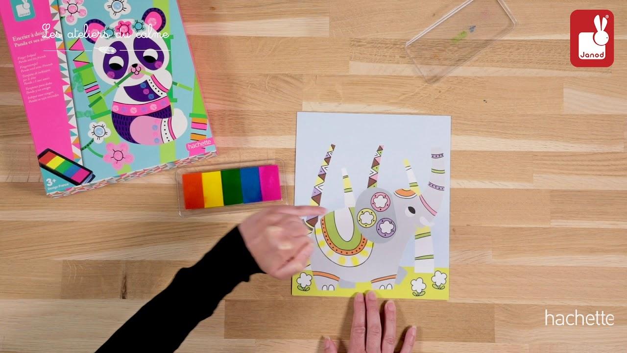 Scopri come utilizzare il Set Pittura a Dita Panda.