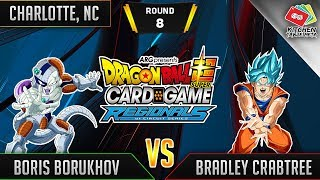 Dragon Ball Super Card Game Gameplay [DBS TCG] Charlotte Regional Round 8