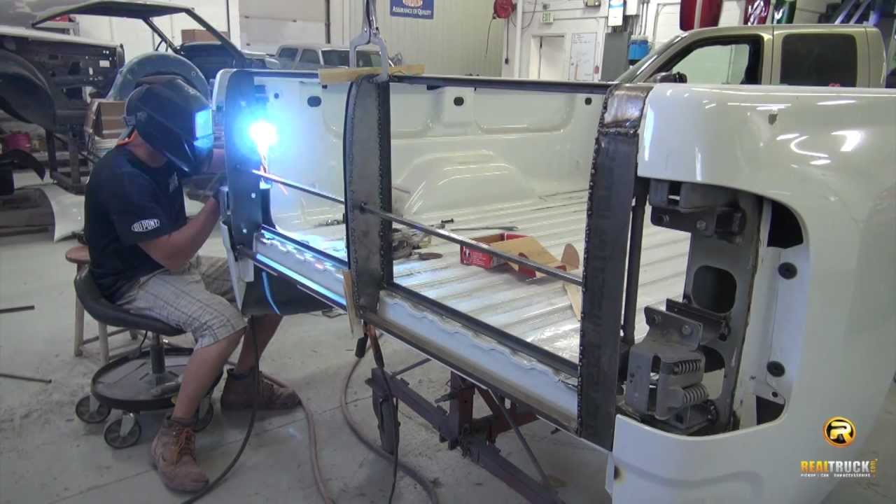 Storm Truck Project Episode 10 Custom Tailgate