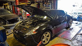 HIGHEST HORSEPOWER STOCK 370z DYNO NUMBERS?!?!