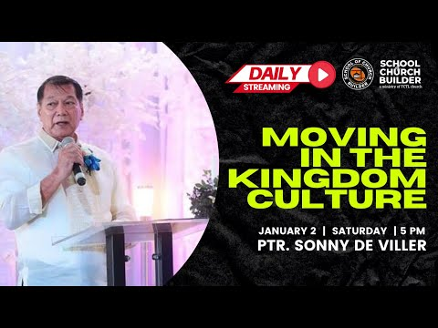 MOVING IN THE KINGDOM CULTURE | SCB Daily Streaming - January 2, 2021