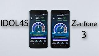 Alcatel Idol 4s vs Asus Zenfone 3 - Speed & Heat Test Comparison Review!
