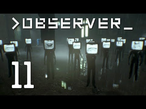 Ep 11 - Victor (Let's play Observer gameplay)[1080p.60fps]