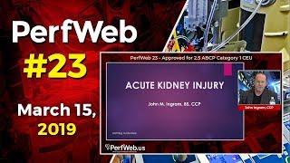 PerfWeb 23 Cardiopulmonary Bypass is use of Phenylephrine Causing AKI