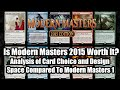 Modern Masters 2015: Is It Worth Your Time and Money?