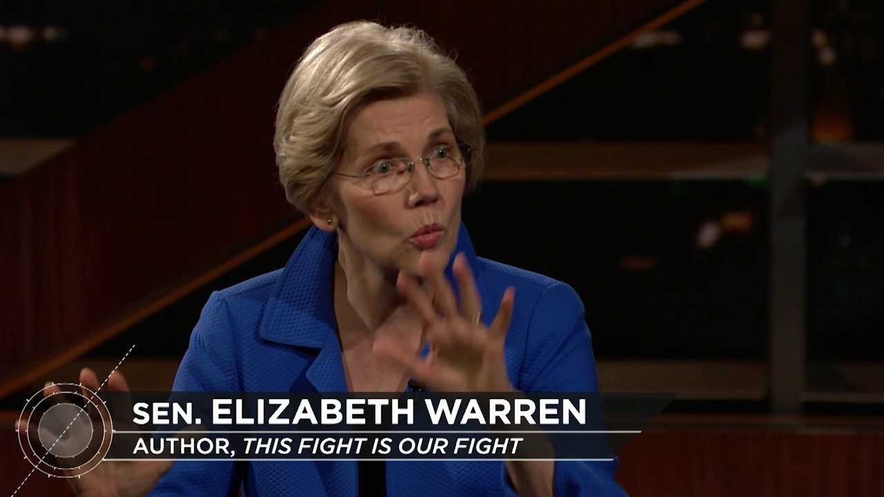 Bill Maher to Elizabeth Warren: 'They don't like you, Pocahontas'
