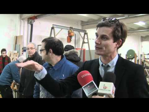 "Brindis 2012: Badanotis: ""tallerBDN brinda per l'escultura i la pau"""