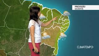 Previsão Nordeste – Chuva a qualquer hora no CE e RN