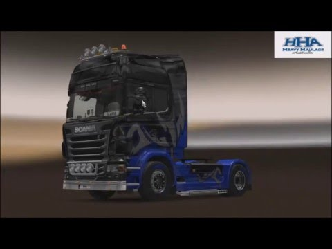 HHA ETS2 FIRST CONVOY OF THE YEAR