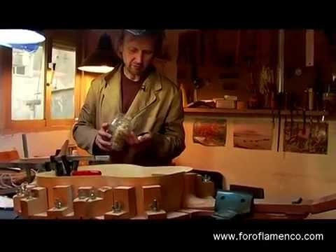 El Guitarrero - the making of a flamenco guitar (Part Two)